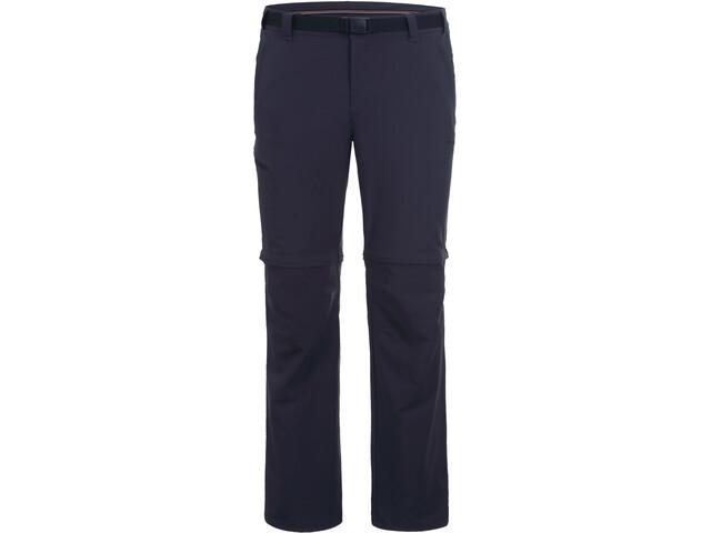 Icepeak Barwick Pantalon Convertible avec zip Homme, anthracite